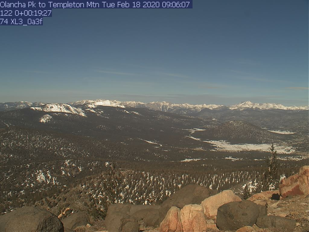 Thumbnail - click to view Bald Mountain: 5. Looking West toward Sherman Peak/Sherman Pass (elev. 9388 ft.)