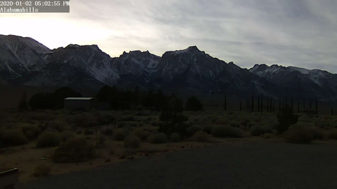 Thumbnail - click to view Lone Pine: Alabama Hills (elev. 4602 ft.)